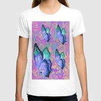 butterflies T-shirts featuring butterflies by Shea33