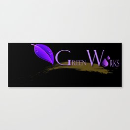 Green Works  Canvas Print