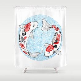 Kois  Shower Curtain