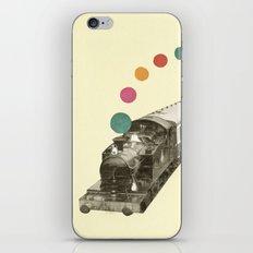 Rainbow Train iPhone & iPod Skin