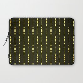 Art Deco Le Carnaval Pattern Laptop Sleeve