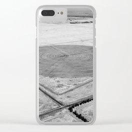 Crop Circle Clear iPhone Case