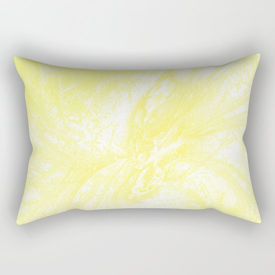 Splatter in Lemonade Rectangular Pillow