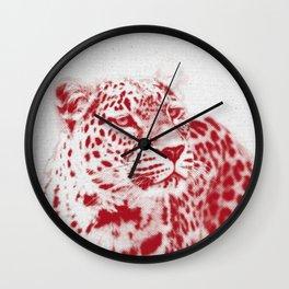 Leopard 01 Wall Clock