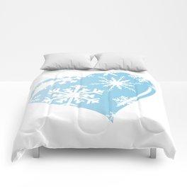 Ice Heart Comforters