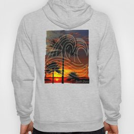 South Shore Sunset & Waves Design Hoody