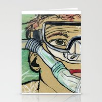 kevin russ Stationery Cards featuring Kevin Search by K. Fry Illustration