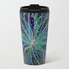 Blue Lily Travel Mug