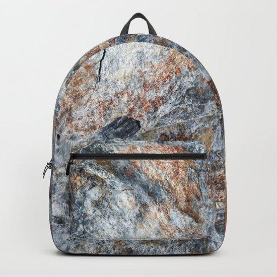 Slate Iron Rock Pattern (Norway) Backpack