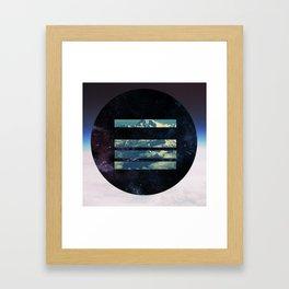 Looking Down Framed Art Print