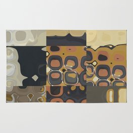 Mid Century Modern PATTERN Abstract Geometric Prints by Michel Keck Rug