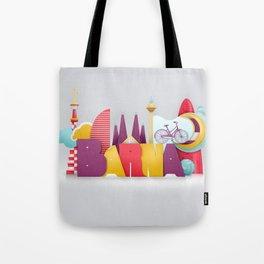 Barcelona ilustrada Tote Bag