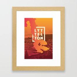 Lyttelton & Whakaraupō Framed Art Print