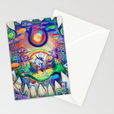 buried treasure Stationery Cards