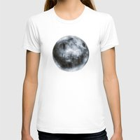 dark side of the moon T-shirts featuring The Dark Side of the Moon by Viviana Gonzalez