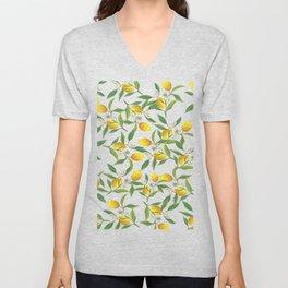 Spring lemons Unisex V-Neck