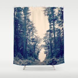 Path of Least Resistance Shower Curtain