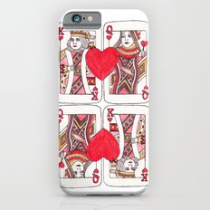 King and Queen of Hearts Slim Case iPhone 6s