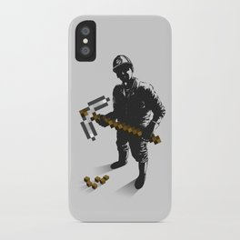 Miner iPhone Case