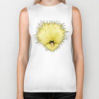 chicken Biker Tanks featuring Chicken by Compassion Collective