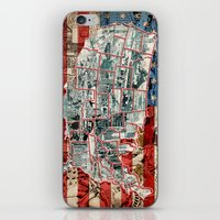 usa iPhone & iPod Skins featuring USA  by Bekim ART