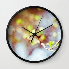 Spring Buds Wall Clock