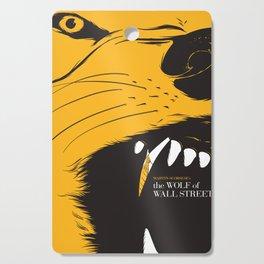 The Wolf of Wall Street | Fan Poster Design Cutting Board