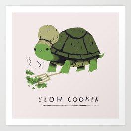 slow cooker Art Print