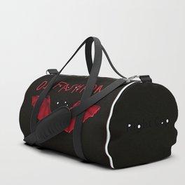 Bat wings with DI Fashion logo another DI Fashion goth line Duffle Bag