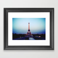 Tour d'Eiffel Framed Art Print