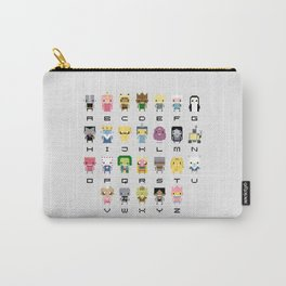 Ad Venture Time Alphabet Carry-All Pouch
