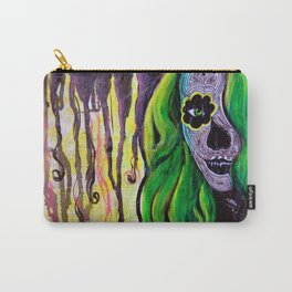 Citrus Sugar Skull Carry-All Pouch