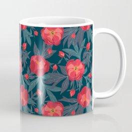 Bright peonies Coffee Mug
