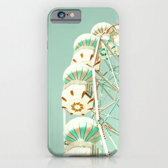 Soft Aqua Ferris Wheel  iPhone & iPod Case