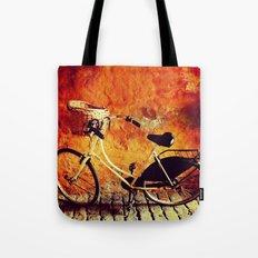 Yellow Cycle Tote Bag