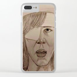 Carl by Double R Clear iPhone Case