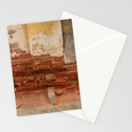 Broken old Wall Stationery Cards