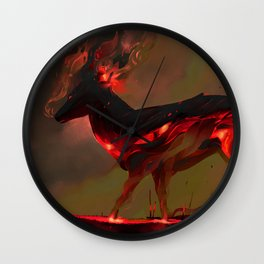 Inferno Wall Clock