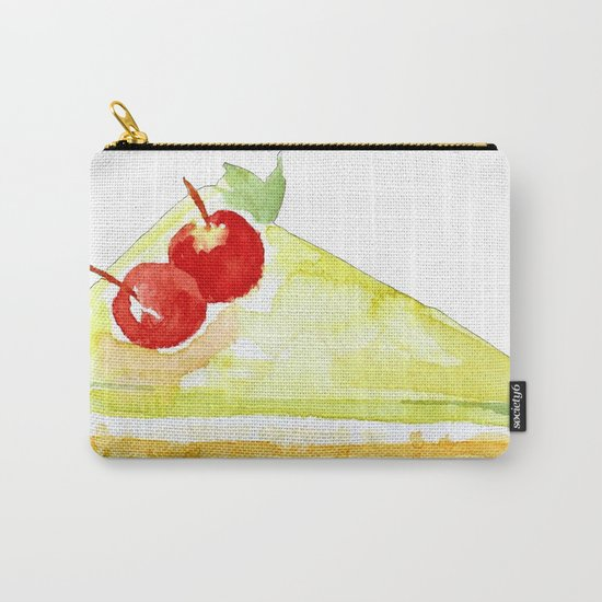 Lime Cake Carry-All Pouch