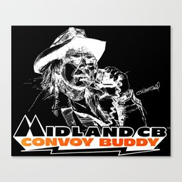 Join the Midland Convoy Canvas Print
