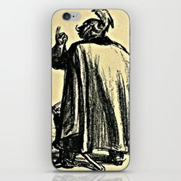 I Believe in the Sword and Almighty God  iPhone Skin
