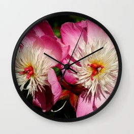 Beautiful Twins Wall Clock