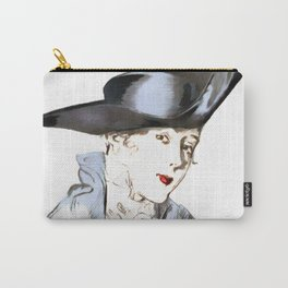 Hat from bygone Era Carry-All Pouch