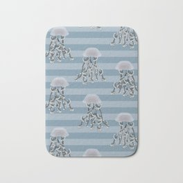 Jellyfish elegance Bath Mat
