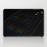 gaming iPad Cases featuring SNES Gaming by Gudrun Galdean