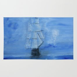Ghost Ship Rug
