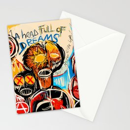 Head full of dreams Stationery Cards