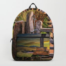Gate to the Holy Island Backpack