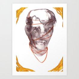Bristling and Bound Art Print