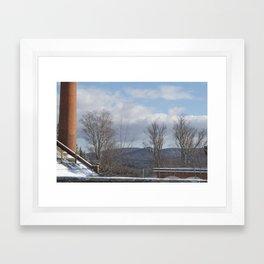 Power Planted Framed Art Print